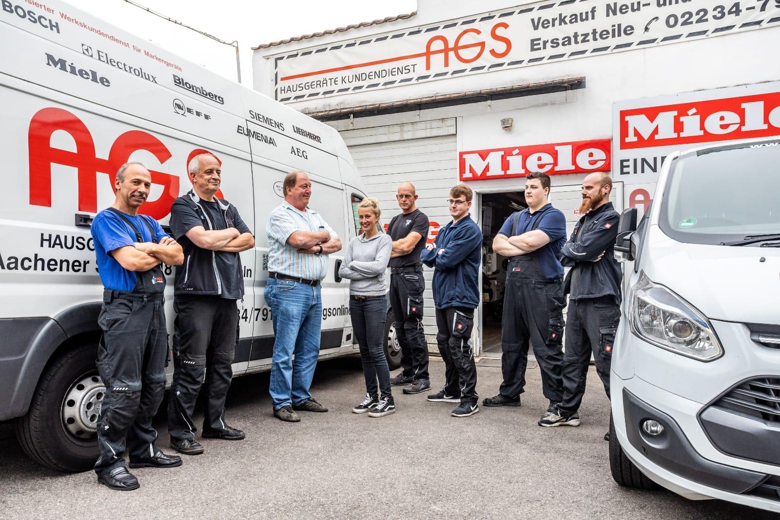 Das Team der AGS GmbH
