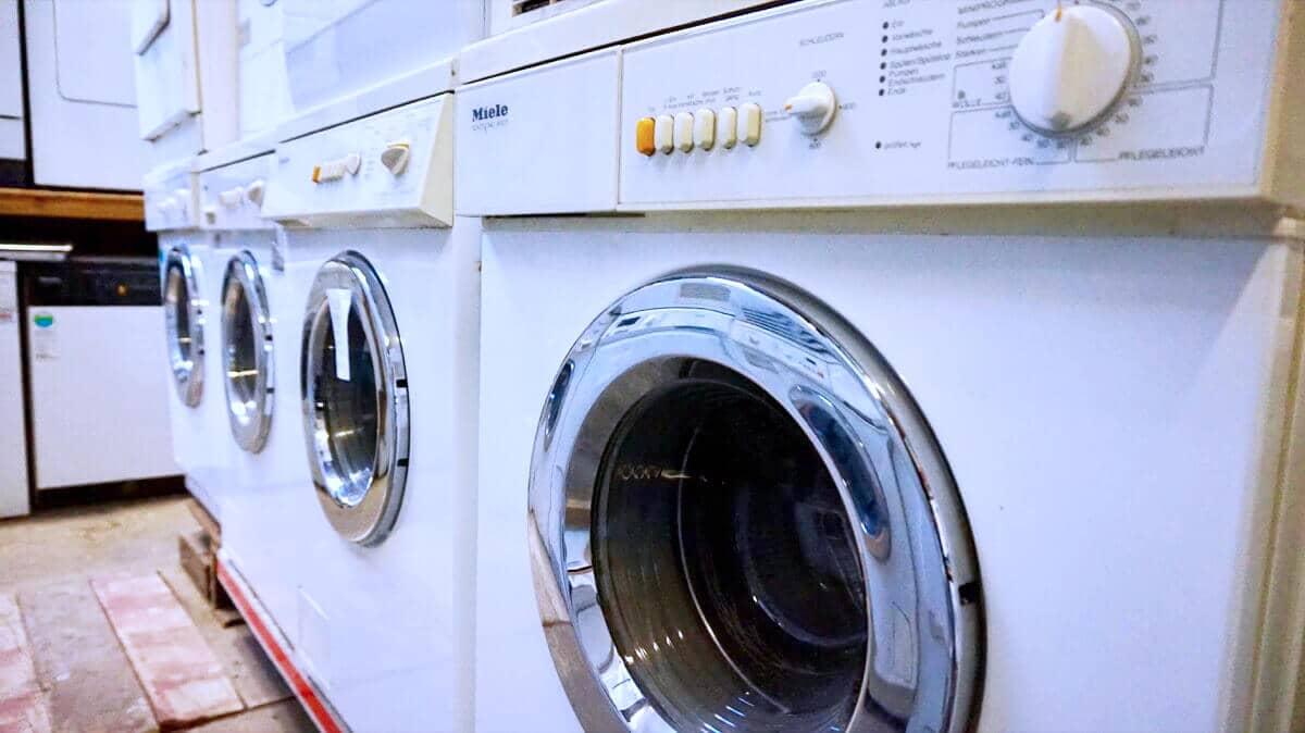 Gebrauchte Waschmaschinen von Miele