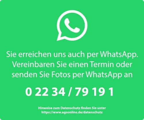 AGS GmbH per WhatsApp