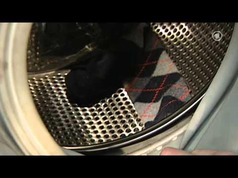 verschwundene Socken in der Waschmaschine